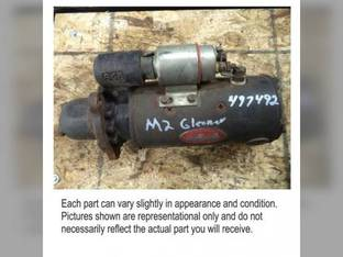 Used Starter Gleaner L3 L2 M3 M2 L 71336643