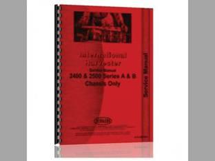 Service Manual - 2400A 2400B 2500A 2500B 4500A 4500B International 2400A 2500B 2400B 2500A