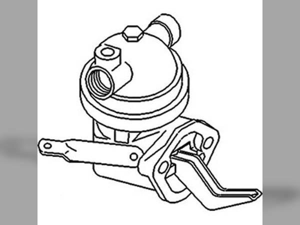 Fuel System Oem 826154m91826154v91 Sn 119798 For Massey Ferguson