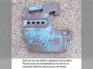 Used Suitcase Weight Ford 5110 5610 5640 5900 6410 6610 6640 6710 6810 7410 7610 7710 7740 7810 7840 7910 8210 8240 8340 8530 8630 TW5 TW15 TW25 TW35 5610S 8730 8830 E0NN3A370BB98B