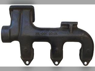 Manifold, Exhaust, Front
