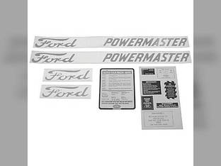 Decal Set PowerMaster Ford 800