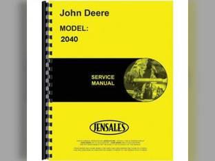 Service Manual - 2040 2240 John Deere 2040 2240 TM1221