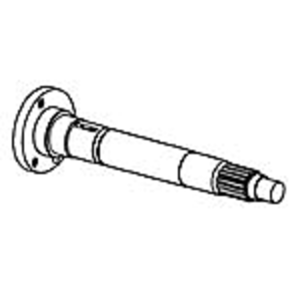 Solid PTO Drive Shaft