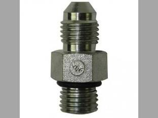 "Hydraulic Adapter - 1/2"" Male JIC 37° x 1/2"" Male O-Ring 7/16-20 x 7/16-20 NPT"