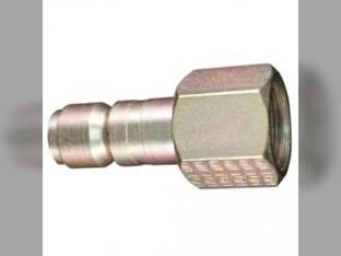 """Milton Air Tool Plug - Female G-Style 1/2"""" FNTP"""