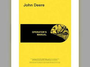 Operator's Manual - L John Deere L L