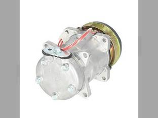 Air Conditioning Compressor - Sanden Style Ford 6640 5640 8340 7840 7740 8240 F0NN19D629AA