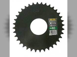 Weld-On Sprocket #40 Chain 36 Tooth X-Series Hub