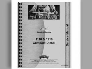 Parts Manual - 1110 1210 1310 1510 1710 1910 Ford 1510 1910 1110 1310 1710 1210
