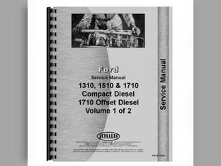 Service Manual - 1310 1510 1710 Ford 1310 1510 1710