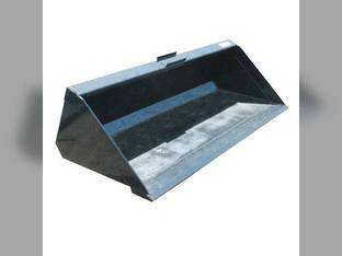"Stout - Skid Steer Material Bucket with Single Cutting Edge 72"" Width"