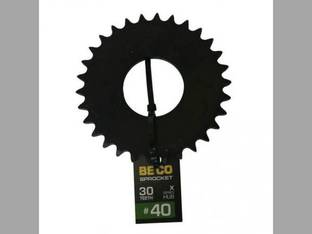 Weld-On Sprocket #40 Chain 30 Tooth X-Series Hub
