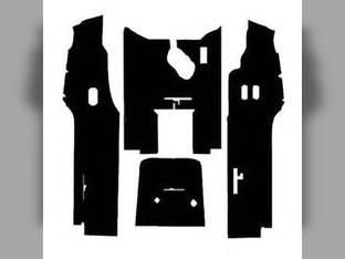 Cab Foam Floor Mat Black Ford 6600 7600 5600
