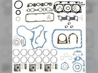 """Engine Rebuild Kit - Less Bearings - .030"""" Oversize Pistons - 1/65-5/69 Ford 4110 4190 4410 201 4100 4500 4340 4140 4000 4330 4400 BSD333 4200"""