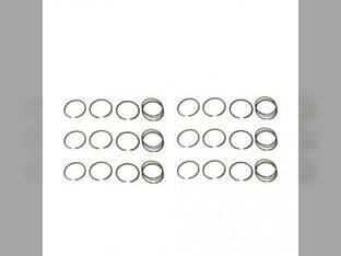 Piston Ring Set - Standard - 6 Cylinder Massey Ferguson 750