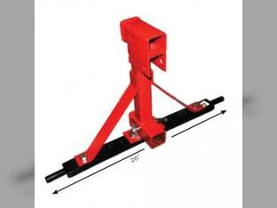 3 PT Hitch Tow Assembly - Upper and Lower Connection Category 1