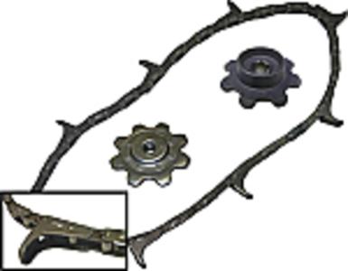 Cornhead Chain and Sprocket Kit