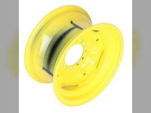 "8"" x 15"" 6 Bolt Front Rim 4.500"" Back Side Yellow Universal"