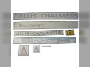 Decal Set 190 One Ninety Vinyl Allis Chalmers 190