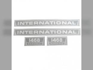 Decal Set International 1468