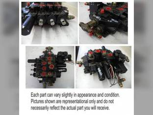 Used Hydraulic Control Valve Assembly Ford 9030 9707506