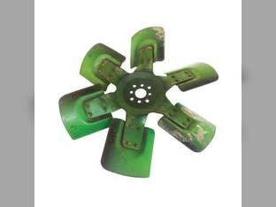 Used Cooling Fan - 6 Blade John Deere 4030 2940 3140 4440 4040 2950 3040 3830 4230 3150 4240 4890 AR64075