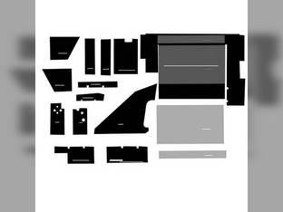Cab Foam Kit less Headliner Black International 5088 7288 6588 3688 5288 7488 6388 3488 5488 3288 6788 3088