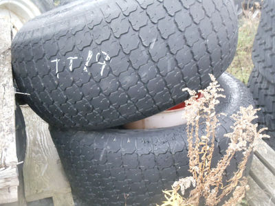 GALAXY ,41-18LX16.1 TURF TIRE QTY 2 90%TREAD REMAINING