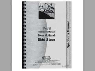 Operator's Manual - FO-O-NH L775 Ford New Holland L775