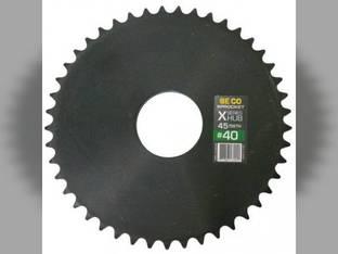 Weld-On Sprocket #40 Chain 45 Tooth X-Series Hub