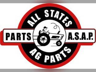 "Exhaust Stack - 2-15/16"" FL X 48"" Straight Chrome John Deere 4230 4240 4030 4020 4010 4000 3020"
