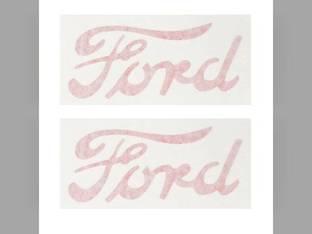 Mylar Hood Decal Set - 8N Ford 8N