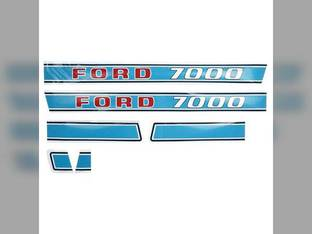Decal Set Ford 7000