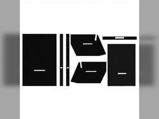 Cab Foam Kit with Headliner Black Oliver 1955 1950 1755 2150 1655 2255 1850 1650 1855 2050 1555 1550 1750