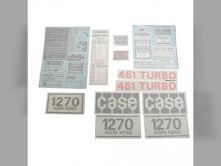 Decal Set Case 1270