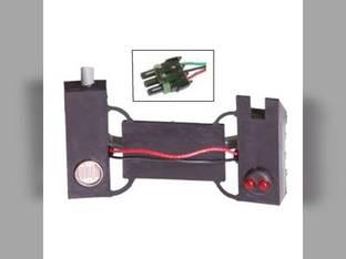 Seed Flow Sensor - Weather-Pack Connector John Deere 7200 7200 7000 7000 7300 7300 7100 7100 White 5700 5700 5400 5400 5100 5100 Case IH 800 800 900 900 46170-270S1 AA58293