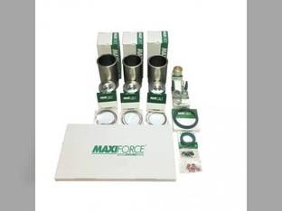 "Engine Rebuild Kit - Less Bearings - .010"" Oversize Pistons 3TNE84 3TNE84T Komatsu PC35R-8 PC30MR-1-K PC30-7 PC35MRX-1A PC30MRX-1 WA30-5 PC25-1 WA40-3 WA50-3 Yanmar 3TNE84T 3TNE84 Kobelco SK030-2"