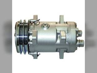 Air Conditioning Compressor - w/Clutch Sanden New Holland TR96 TR86 Ford 675 655D 655C 555D 9030 555C 655 555 675D Versatile 846 256 836 276 Gleaner R72 R75 R62 R65 Massey Ferguson 8780 8680 Hesston