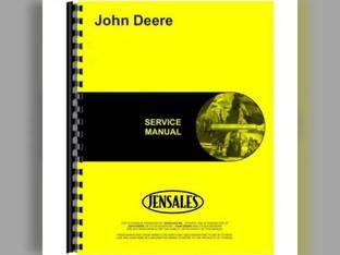 Complete Service Manual Set of 6 John Deere 520 520 50 50 530 530