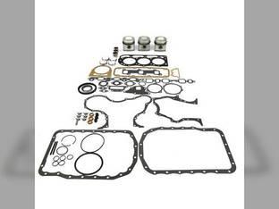 Engine Rebuild Kit - Less Bearings - Standard Pistons Ford 4190 535 201 550 4600 4100 4610SU 555 4340 4140 BSG333 4000 515 4110 530A 4500 4610 4330 4400 545 4200 531 4410