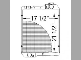 Radiator Case IH CX50 CX70 CX90 C100 C50 CX100 C70 C80 C60 CX60 CX80 222890A4