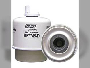 Filter - Secondary Fuel/Water Separator with Drain Ford 304T 545D 3930 445D 4630 345D 87801434 New Holland LS190 LX865 L865 LX985 LS180 LX885 87801434