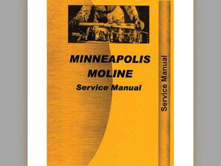 Service & Operator's Manual - Z ZTE ZTN ZTS ZTU Minneapolis Moline Z Z
