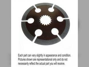 Used Internal Spline Brake Disc Ford A66 TW25 8630 8530 8700 8000 8400 TW30 9200 9000 TW15 TW20 9700 TW5 8100 8670 9600 TW10 A64 TW35 8830 8200 8730 86014787