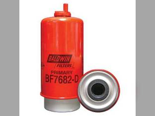Filter - Fuel / Water Coalescer with Drain Element BF7682 D John Deere 9100 8300 8100 8300T 8210 8770 450 8400 8210T 644 8120 8110T 8400T 330 330 8570 8310 8410 7810 8100T 7710 8870 8200T 8110 8310T