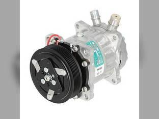 Air Conditioning Compressor - Sanden New Holland TS90 1089 2550 TS110 LS190 HW305 TS100 1095 TS115 Ford 7740 8240 7840 6640 5640 8340 82008688 82016157 9827954 9847944 9849085 82001879