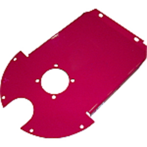 Elevator Head Auger Bearing Support Plate