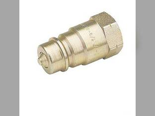 "Hydraulic Coupler Male Tip Old Style 7/8"" ORB x 14 NPT 2500 PSI 395149R1 507716GV 5077-16GV"