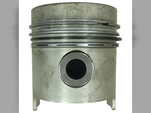 Piston, With Ring Set